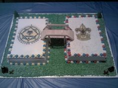 cub scout bridging cake made by Andria Jones.