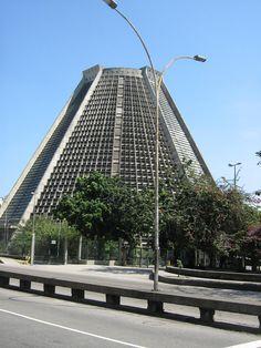 A Catedral de São Sebastião do Rio de Janeiro, also known as, Catedral Metropolitana.