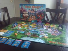 """Disney Magic Kingdom Game"" by Parker Brothers"