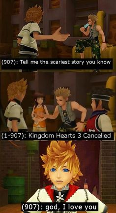 """""""Second scariest is Kingdom Hearts 1.5 Japan Exclusive    Bringing this back considering recent events"""""""