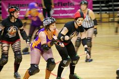 A rousing roller derby bout can change the microbial makeup of your skin.
