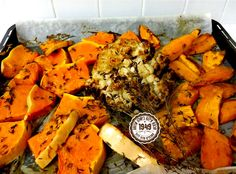 elanaamar | דלעת כרובית בטטה קורנית יחד בתבנית, שמן זית מלח גס ולתנור בשקט הס….