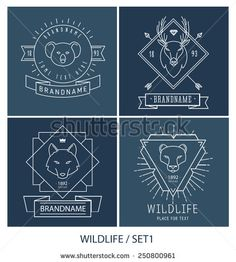animal logo hipster - Google Search