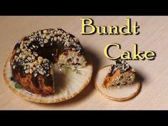 Simple Miniature Bundt Cake - Polymer Clay Tutorial - YouTube