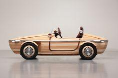 Preview Milan Design Week : Toyota Setsuna voiture en bois