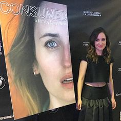 Consumed red carpet tonight we interviewed Zoe Lister-Jones #consumedfilm #lafilmfest watch tonight on #AndroidTV AndroidTV