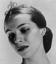 Maria Tallchief. Prima ballerina and American Indian who married George Balanchine and acted as his muse.