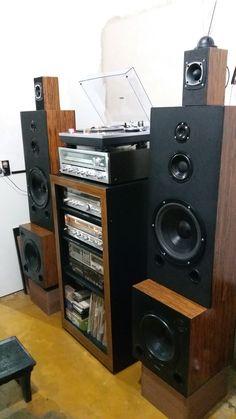 Audio Rack, Speaker Box Design, Cool Technology, Loudspeaker, Fancy Pants, Audio System, Audiophile, Art Music, Speakers