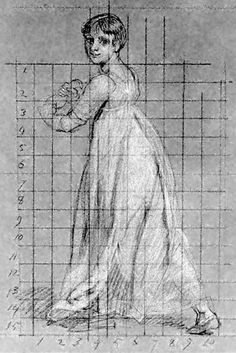 Sketch of a daughter of Sir Edward Knatchbull (8th Baronet) by John Singleton Copely, 1800-1802 (done in preparation for painting a large portrait of the family). http://www.pemberley.com/janeinfo/1801knch.jpg