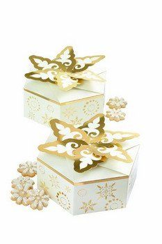Snowflake Christmas Treat Boxes
