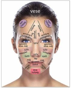 Acupressure Diy This acne face map will show you what the acne on every part of your face means and how to fix it! - This acne face map will show you what the acne on every part of your face means and how to fix it! Acupressure Treatment, Acupressure Points, Acupuncture Points, Gesicht Mapping, The Face, Face Mapping, Acne Causes, Body Organs, Acne Treatment