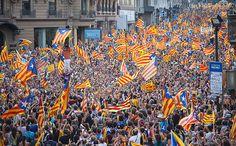 La independència a l'alça tot i la pugna per la investidura, segons el CEO Scottish Independence, Catalan Independence, 11. September, Image Cat, Elmo, Times Square, Spanish, Country, Travel