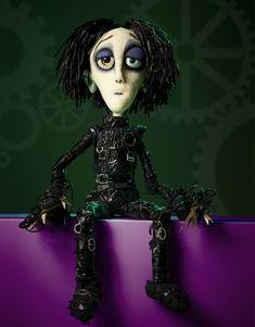 Figurenbau und Puppenbau - Edward Scissor hands