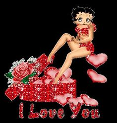 Image result for betty boop valentines day classy