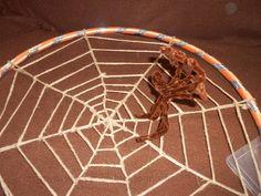 Halloween: Hula hoop Spider Web | Craft To Art