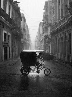 Cuba in the rain. Vicente Cervera Casino