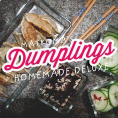 Dumplings med svamp och ingefära