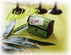 une idée de petit cadeau en forme de petit coffre bambou qui va bien avec le thème bambou pour offrir aux invités sur id-decos.fr