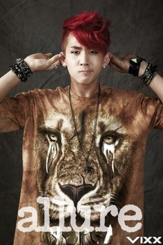 Ravi ♡ #VIXX - Allure Magazine October Issue '12