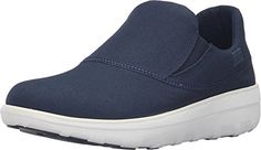 FitFlop Womens Loaff Sporty SlipOn Supernavy Sneaker 9 M B >>> Want additional info? Click on the affiliate link Amazon.com on image.