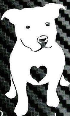 Pitbull Love A Bull Truck Laptop Rescue Dog Heart Car Decal Vinyl Sticker Pitbull Terrier, Bull Terriers, Dogs Pitbull, American Pit Bull Terrier, Online Pet Supplies, Staffordshire Bull Terrier, Pit Bull Love, Black White, Cute Creatures