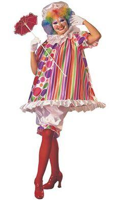 Betty Brite Clown Costume