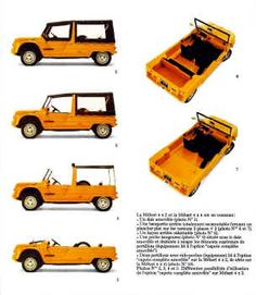 Citroen Mehari brochure                                                                                                                                                                                 More