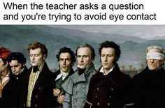Especially in Art History.  Credit: Classical Art Memes