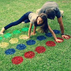 Outdoor twister fun in the garden - Not sure how to keep the kids occupied during the school holidays? Or looking for ideas to liven up a gathering with family or friends. Grab some cans of Rust-Oleum spray paint and paint up an outdoor Twister game. This is sure to keep everyone occupied and be loads of fun! - See more at: http://www.home-dzine.co.za/crafts/craft-twister.htm#sthash.kOPlfCLu.dpuf