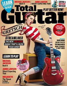Total #Guitar Magazine 277. #DavidBowie, #DreamTheater, #TheMaccabees, #MarkTremonti & #AndyJames.