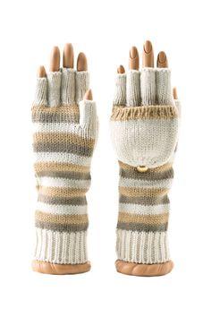 Luna Convertible Fingerless Gloves on HauteLook