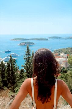 #Island #landscape #stunning #view #croatia #croatiatravel #croatiafulloflife Travel Blog, Croatia Travel, Stunning View, Passion, Island, Landscape, World, Hair Styles, Life
