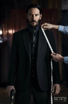 John Wick..! #KeanuReeves #JohnWick #movies