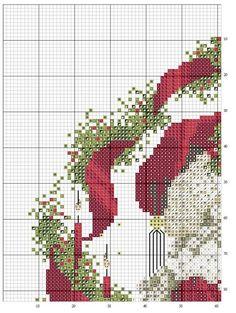 PUNTO EN CRUZ NAVIDAD PAPA NOEL SANTA (pág. 2)   Aprender manualidades es facilisimo.com