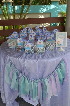 Under the Sea/ Mermaid Party Birthday Party Ideas | Photo 22 of 37 | Catch My Party