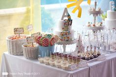 Looking for the newest and best party ideas? Kara's Party Ideas is the place for all things party! Come in and see what is trending in the party world! Polka Dot Party, Polka Dots, Throw A Party, Colorful Party, Party Entertainment, 2nd Birthday Parties, Birthday Cake, Childrens Party, Dessert Table