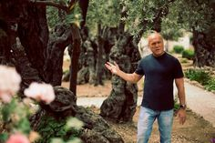 Greg Laurie at Garden of Gethsemane