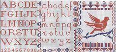 Vintage alphabet and bird charts WitchWolfWeb Creations: December 2011