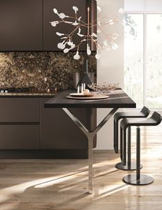 Linear kitchen DOMINA | Linear kitchen - Aster Cucine