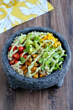Protein-Packed Vegetarian Burrito Bowls with #BocaEssentials! #CleverGirsl   The Foodie Physician