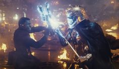 Finn and Phasma dual The Americans, Good Will Hunting, Star Wars Film, Star Trek, Sith Lord, Mark Hamill, Best Action Movies, Great Movies, Clone Wars