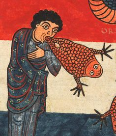 """False Prophets in Medieval Art"" Medieval Memes, Medieval Life, Medieval Art, Medieval Drawings, Medieval Paintings, Medieval Manuscript, Illuminated Manuscript, Art Et Illustration, Illustrations"