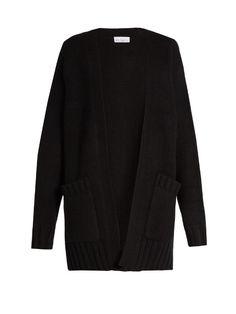 RAEY Chunky cashmere-knit cardigan. #raey #cloth #cardigan