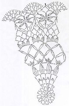 The Angel Garden~天使の庭のドイリー~(編み図付き)の画像:Crochet a little