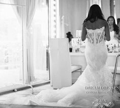 Gorgeous Strapless Mermaid/ Trumpet Wedding by DreamDressesByPMN $2,200+