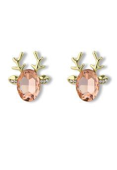 These are so fun! Deer Beads Earrings