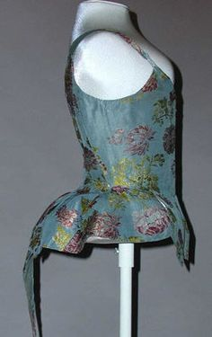 Object Name  Bodice  Date  18th century