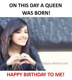 59 ideas birthday wishes girl quotes words Happy Birthday Quotes For Him, Birthday Wishes Girl, Funny Happy Birthday Images, Birthday Girl Quotes, Funny Birthday, Husband Birthday, Birthday Status For Me, Birthday Nails, Crazy Girl Quotes