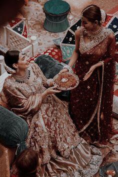 Pakistani Bridal Wear, Pakistani Outfits, Indian Outfits, Desi Wedding Decor, Indian Aesthetic, Indian Photoshoot, Indian Look, Muslim Brides, Desi Wear