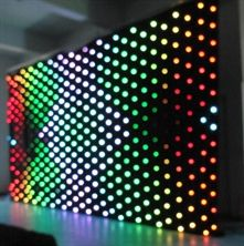 Picture of 4 mtr x 3 mtr LED Video Curtain Star Cloth P5 Matrix Backdrop RGB